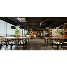 Office Space 061 3D Model
