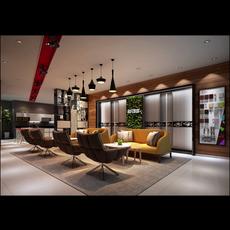 Office Space 069 3D Model