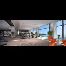 Office Space 071 3D Model