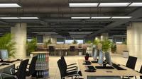 Office Space 073 3D Model