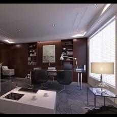 Office Space 077 3D Model