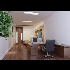 Office Space 081 3D Model