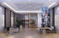 Office Space 100 3D Model