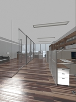 Office Space 109 3D Model