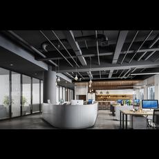 Office Space 113 3D Model