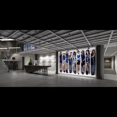 Office Space 124 3D Model