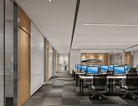 Office Space 126 3D Model