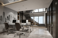 Office Space 127 3D Model