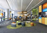Office Space 141 3D Model