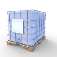 IBC Container 2 3D Model