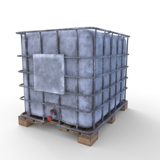 IBC Container 4 3D Model