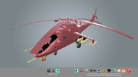 low poly Helicopter  Low-poly 3D Model