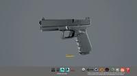 Glock 17 Gen4 gun 3D Model