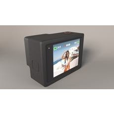 GoPro Hero 8 Black 3D Model