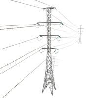 Electricity Pole 26 3D Model
