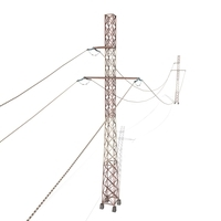 Electricity Pole 29 Weathered 3D Model