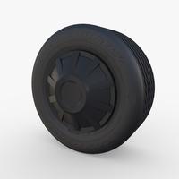 Tesla Truck Wheel 1 3D Model