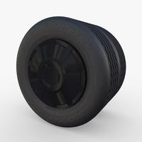 Tesla Truck Wheel 3 3D Model