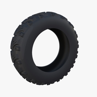 Generic ATV Tire 1 3D Model