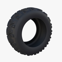Generic ATV Tire 2 3D Model