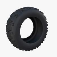 Generic ATV Tire 2 3D Model