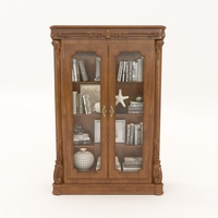 Display Cabinet Classic Style 3D Model