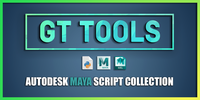 GT Tools 1.6.7 for Maya (maya script)