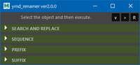 rename tools for Maya 2.0.0 for Maya (maya script)