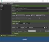 playblast tool for Maya. 2.0.0 for Maya (maya script)