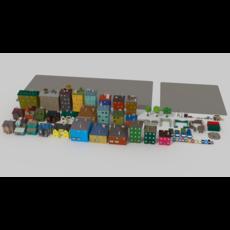 Street Pack 3D Model