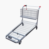 Shopping cart v1 3D Model
