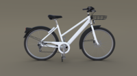 Generic Bicycle 3D Model