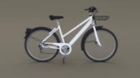 Generic Bicycle 3D Model