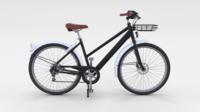 Generic Bicycle Black 3D Model