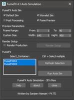 FumeFX 4.0 Auto Simulation 4.1.0 for 3dsmax (3dsmax script)