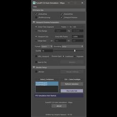 FumeFX Auto Simulation 5.0.0 for Maya (maya script)