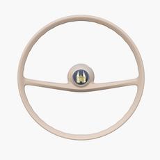 Amphicar 770 Steering Wheel 3D Model