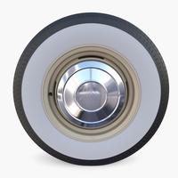 Amphicar Wheel 3D Model