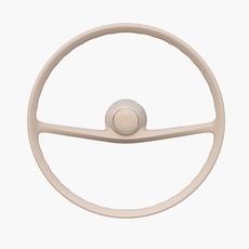 Generic 60s Car Steering Wheel 3D Model