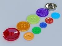 Buttons 3D Model