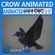 Animated Crow 3D Model