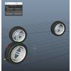 auto wheel rotation maya script 1.0.0 for Maya (maya script)