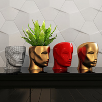 Oscar head, moneybox, vase 3D Model