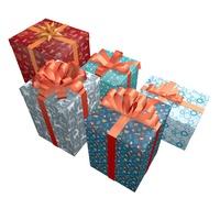 5 Gift 3D Model