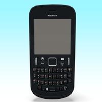 Nokia 200 3D Model