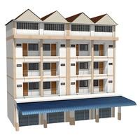 Townhouse 3D Model
