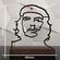 Che Guevara contour sculpture 3D Model