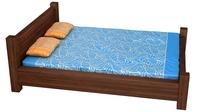 Bed 4 3D Model