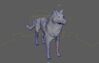 Mythical Wolf 3D Model