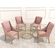 Neoclassical Coffee Table Set 3D Model